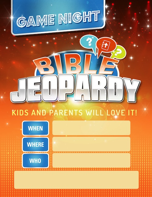 Critical image within bible jeopardy printable