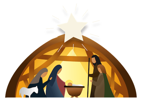Printable Nativity Scene Teach Sunday School