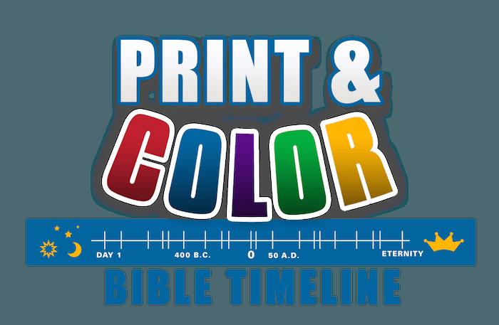 Printable Bible Timeline — Teach Sunday School