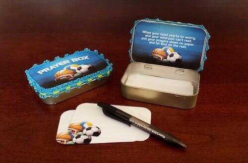 Prayer Boxes Bible Craft Teach Sunday School