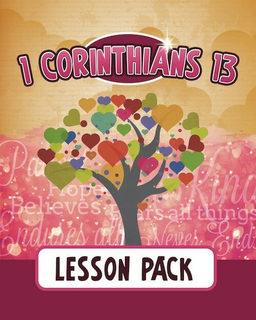 Today S Hint 7 Affordable Activity Ideas For First: 1 Corinthians 13 Lesson Pack
