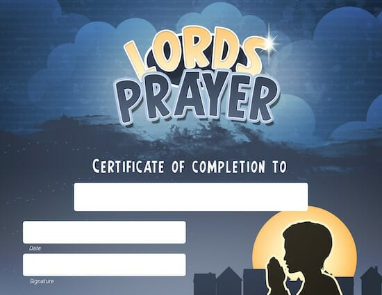 Lords prayer study