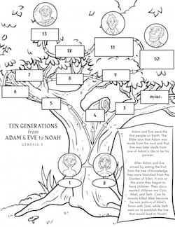 coloring pages of joshua kjv - photo#2