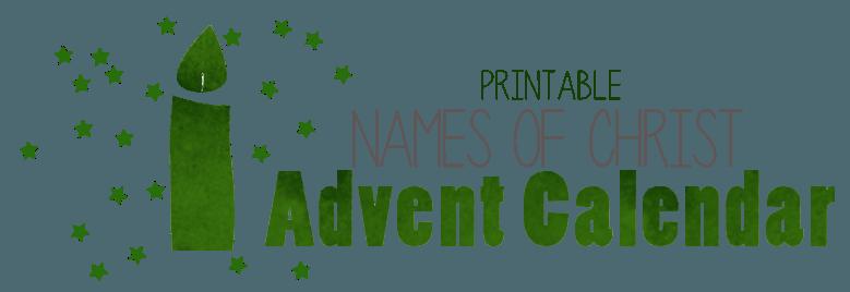 Printable Advent Calendar — Teach Sunday School