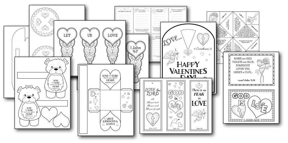 Print and Gift Valentine Crafts for Kids — Teach Sunday School
