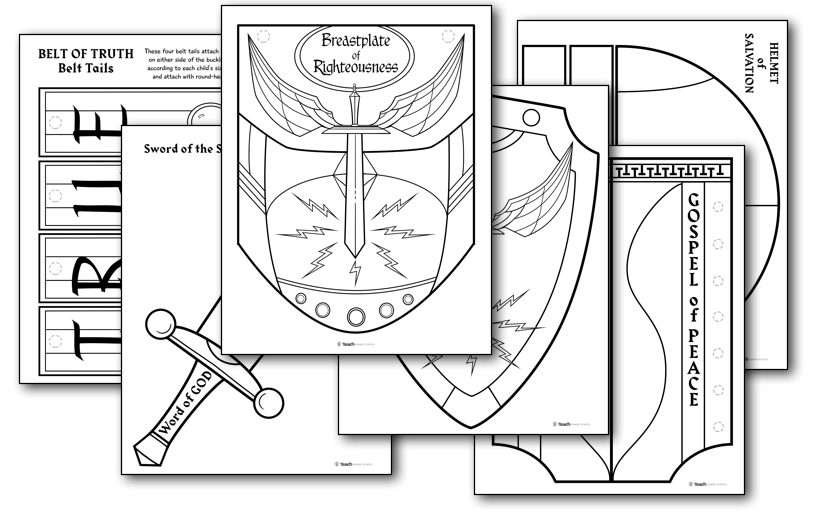 Armor Of God Lesson Pack Teach Sunday School