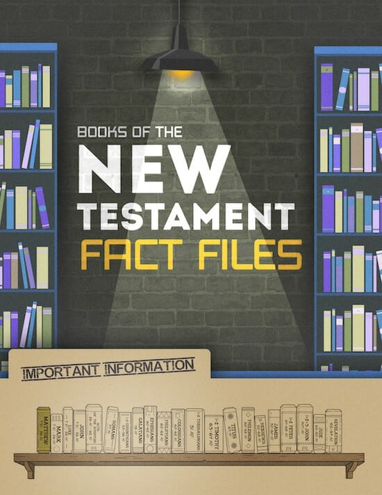 Books of the New Testament Fact Files — Teach Sunday School
