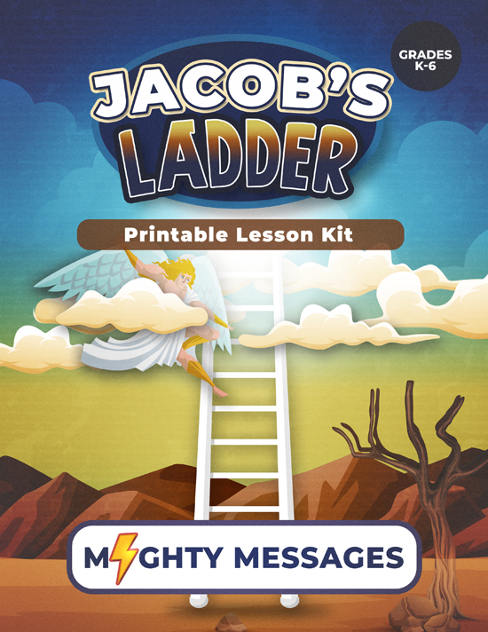 Jacobs Ladder Lesson Kit: Includes crafts, games, worksheets, lesson outline, scripture, certificate, etc.