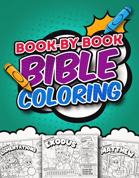 Book-By-Book Bible Coloring Pages