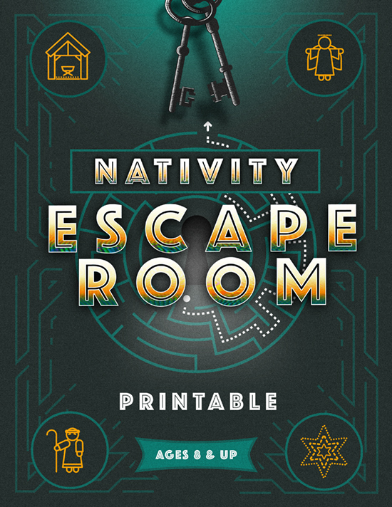 Nativity Escape Room Printable