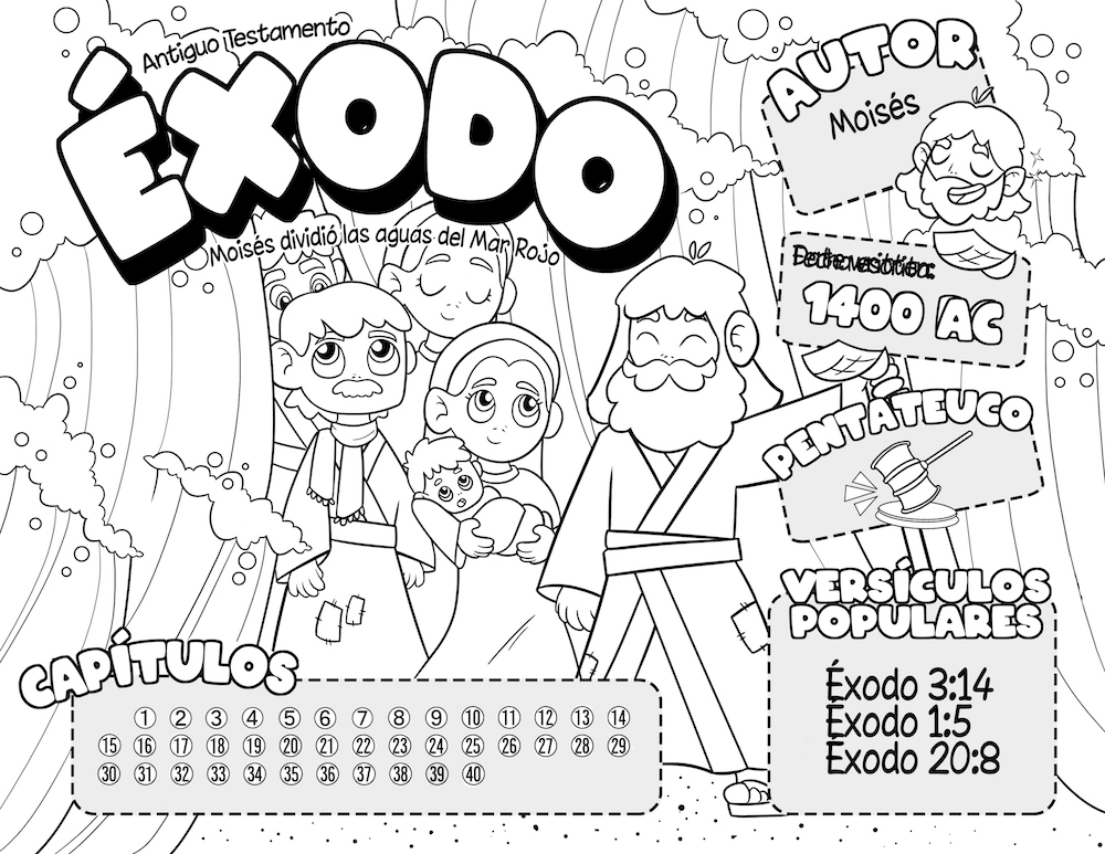 Exodus Coloring Page