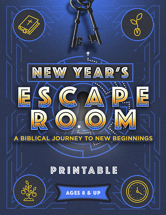 New Year's Escape Room Printable