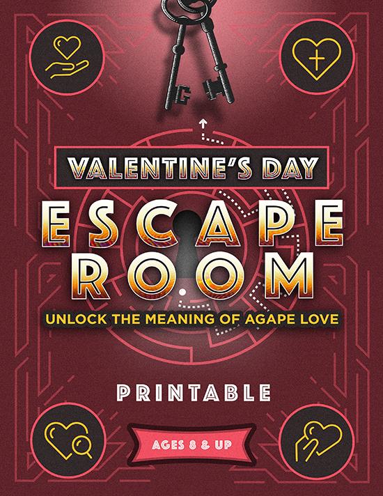 Valentine's Day Escape Room Printable