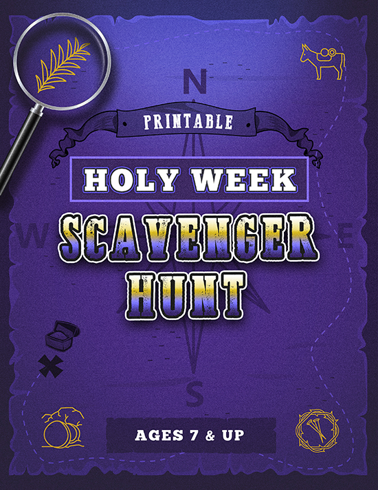 Holy Week Scavenger Hunt