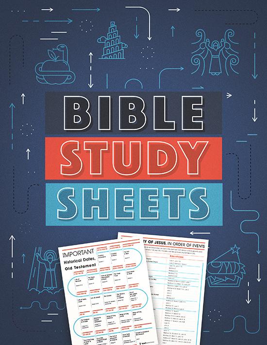Bible Study Sheets