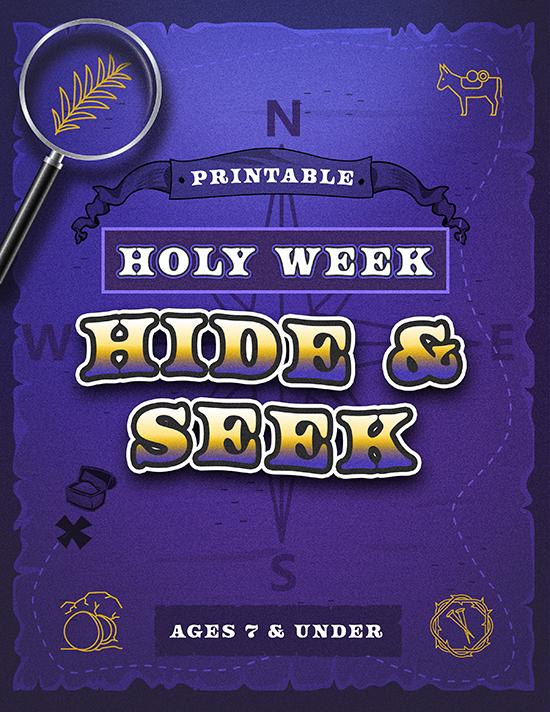 Holy Week Hide & Seek