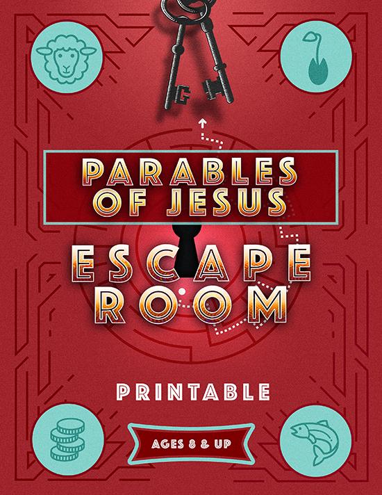 Parables of Jesus Escape Room Printable