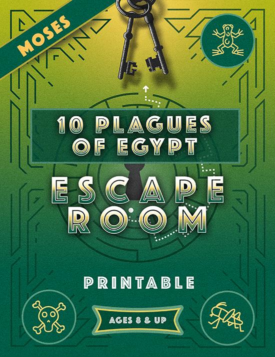 10 Plagues of Egypt Escape Room Printable