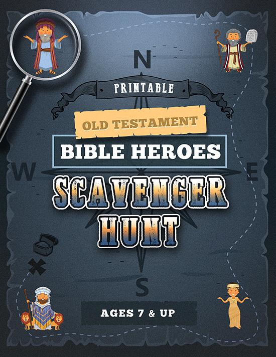 Bible Heroes Scavenger Hunt