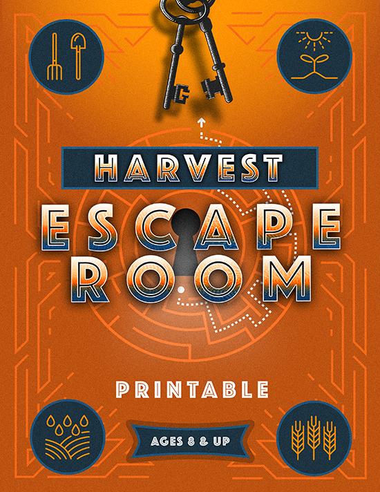 Harvest Escape Room Printable