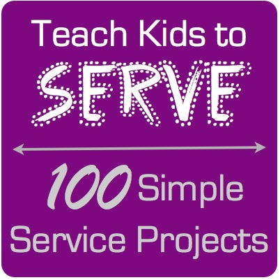 100 Simple Service Project ideas for Kids