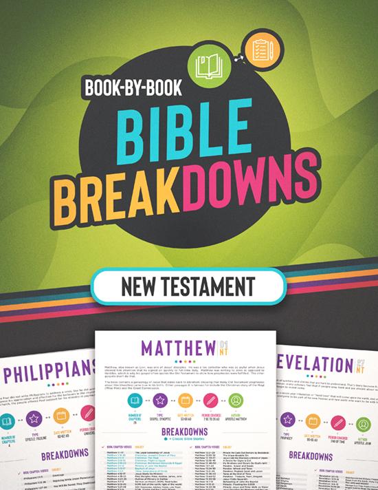 New Testament Bible Breakdowns